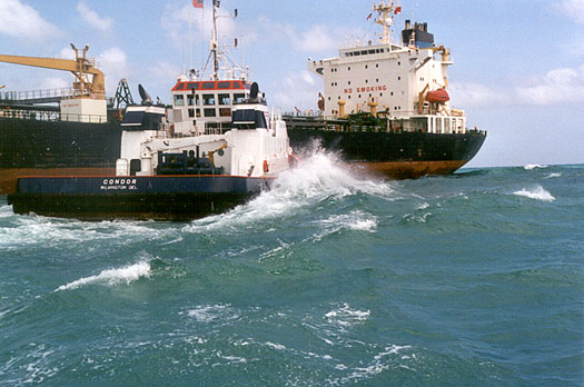Dangerous Ship Wakes, Rogue Waves