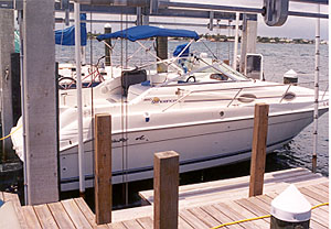 Boat Review Sea Ray 250 Sundancer At Dockside Reports